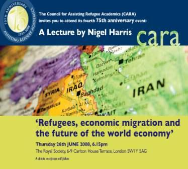 Refugees, Economic Migration and the Future of the World Economy